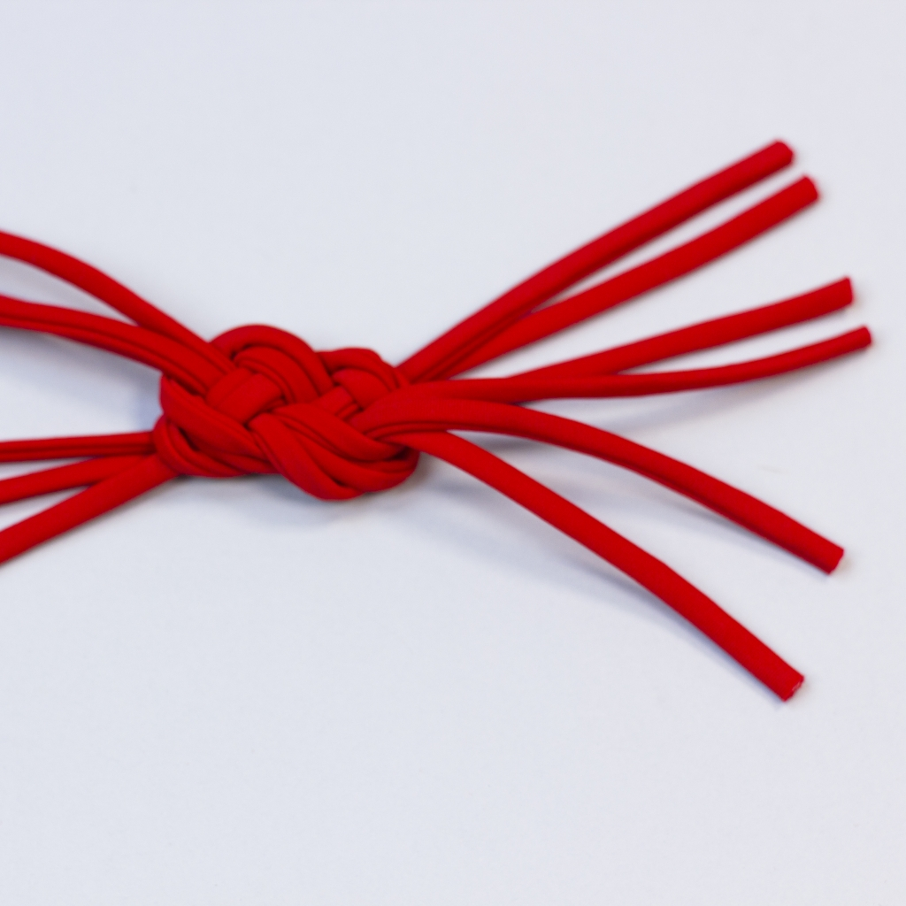 Gotowe sznurki wyglądają tak