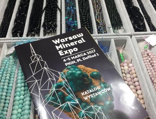 Trendy w biżuterii na warszawskiej giełdzie Mineral Expo 2017
