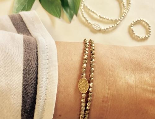 Błyszczące kamienie i srebrne przekładki. Czyli, jak zrobić bransoletkę z hematytu?