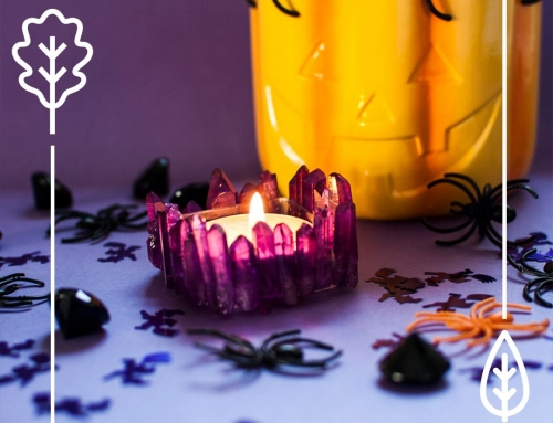 DIY na Halloween: Świecznik prawdziwej wiedźmy!