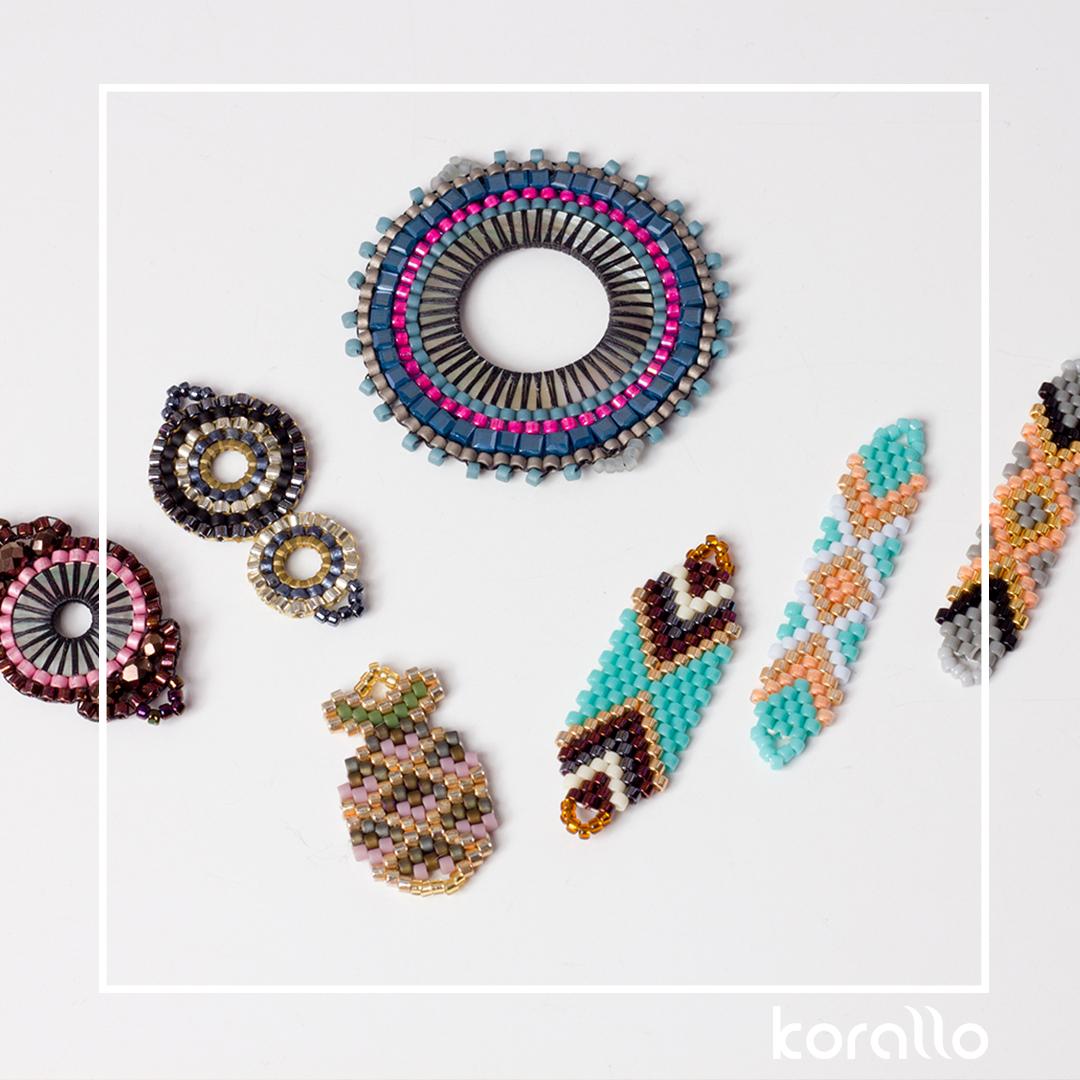 elementy beadingowe w biżuterii