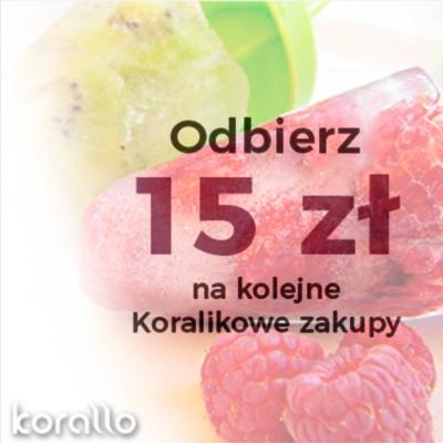 grafika promocja kupon 15 zł