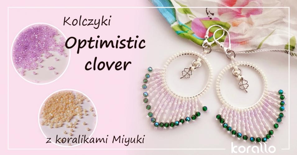 kolczyki z koralikami Miyuki