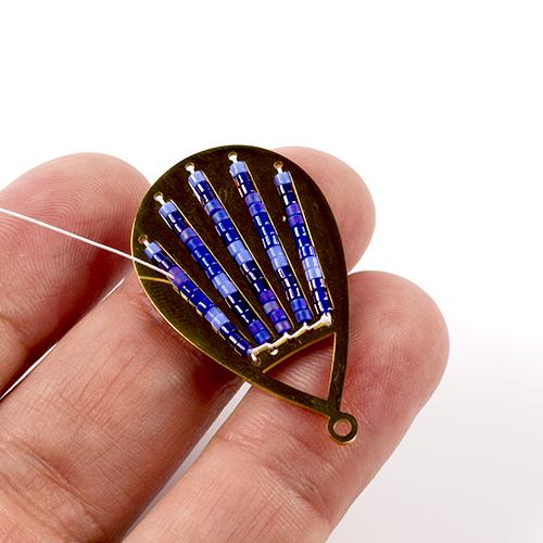 naszyjnik na bazie Creativo ze stali