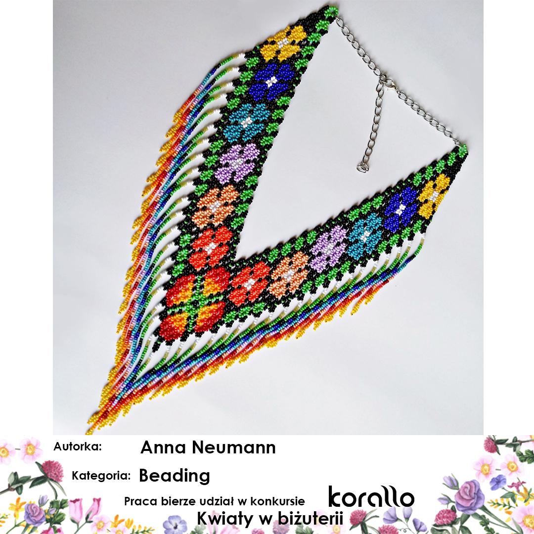 galeria prac konkursowych - Kwiaty w biżuterii