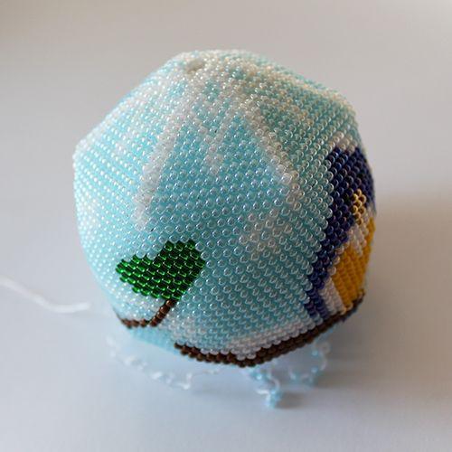 bombka z koralików