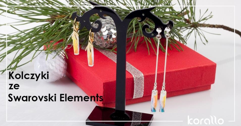 Kolczyki ze Swarovski Elements – dwa pomysły na kolczyki