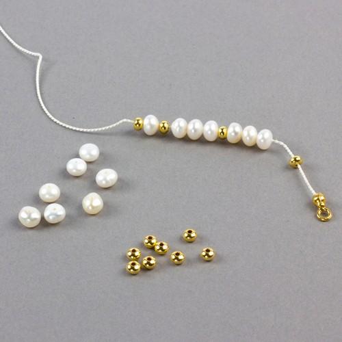 bransoletka z pereł jak zrobić bransoletkę
