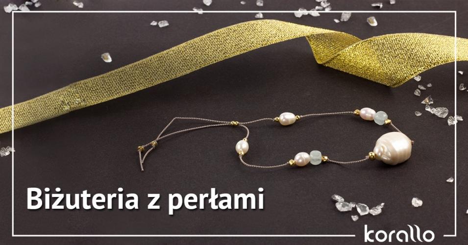 Biżuteria srebrna z perłami hodowlanymi – inspiracje