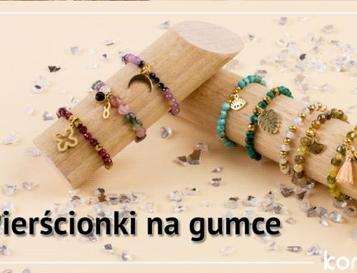 Pierścionki na gumce z kamieni: jak zrobić modny pierścionek?
