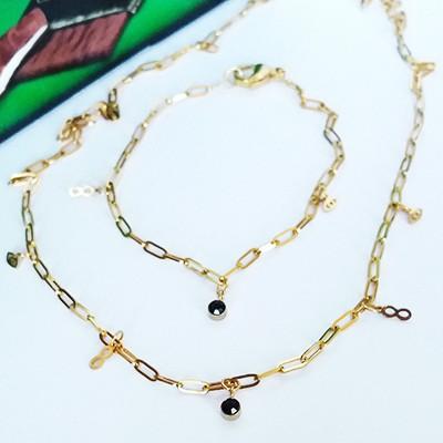 łańcuszki do biżuterii ze stali szlachetnej