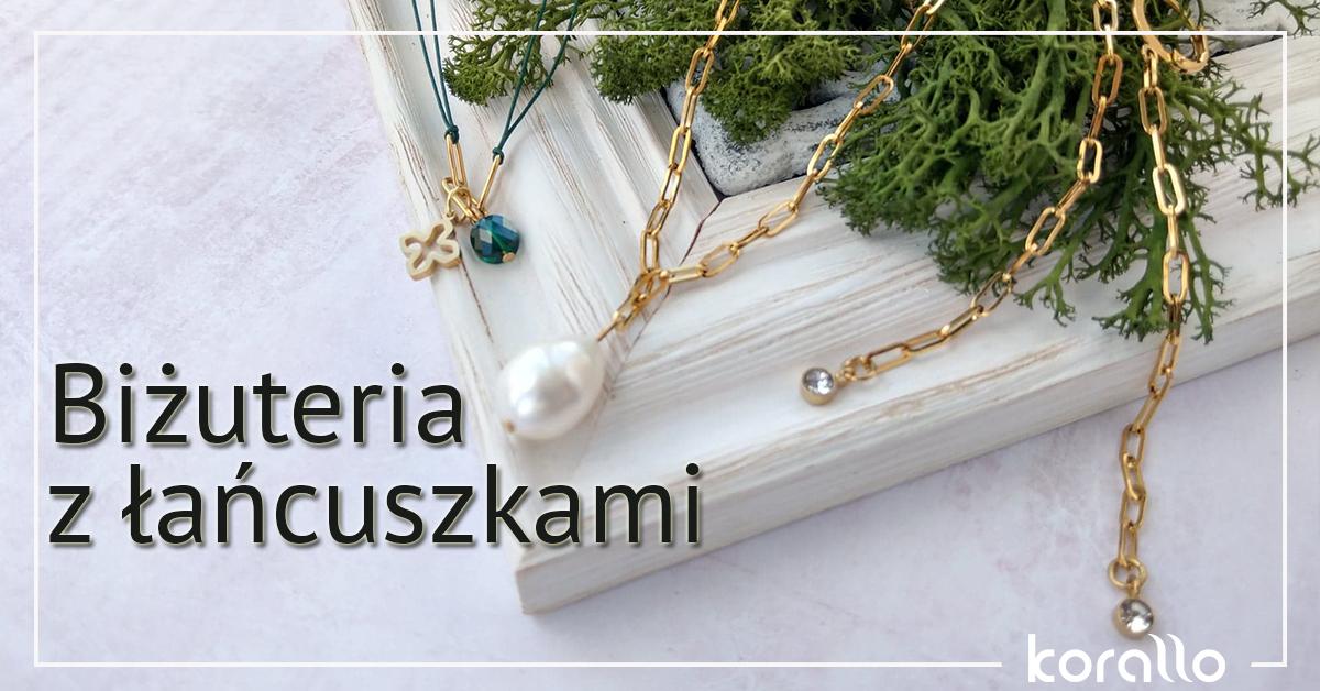 biżuteria z łańcuszkami