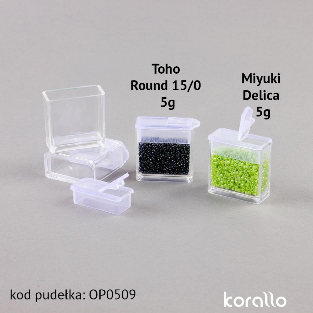 plastikowe pudełko