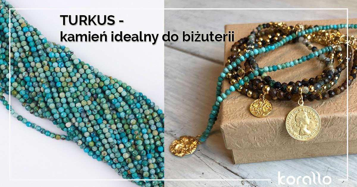 Turkus: kamień szlachetny do biżuterii – właściwości, cena i znaczenie