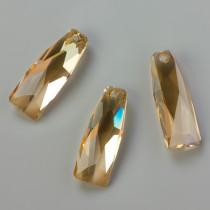 Swarovski crystalactite pendant petite golden shadow 35mm