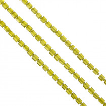 Kostki crackle cytrynowe 6mm