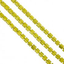 Kostki crackle cytrynowe 8mm