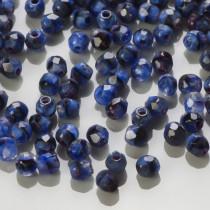 Fire Polish Blue Chroust (26307) 3mm