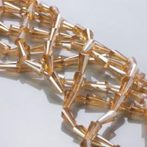 Kryształki column golden shadow 6x12mm