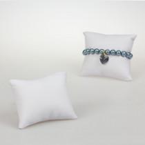 Ekspozytor poduszka biała 9x9,5cm