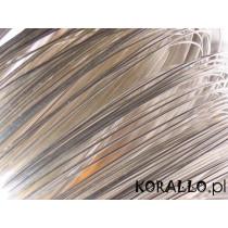Drut srebrny 0,13mm