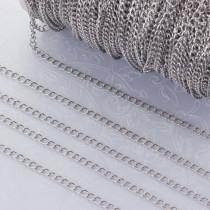 Łańcuszek simple ze stali chirurgicznej 2x3mm