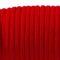 Sznurek lycra czerwony 5mm