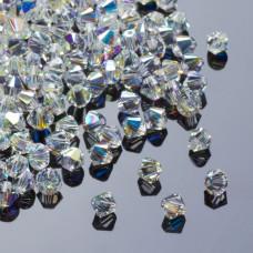 Swarovski bicone 2.5mm crystal AB