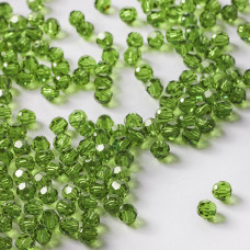 5000 kulka Swarovski fern green zielony 4mm