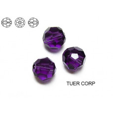 Swarovski kula 8mm purple velvet