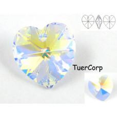 Swarovski heart 18mm crystal AB