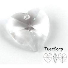 Swarovski heart 28mm crystal