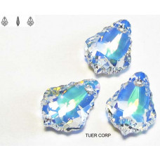 Swarovski baroque 16mm crystal AB