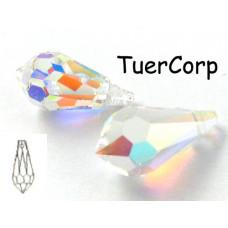 Swarovski tear drop 15mm crystal AB