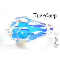 Swarovski tear drop 22mm crystal AB