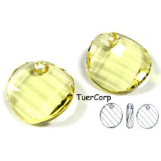 Swarovski twist 18mm jonquil