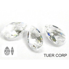 Swarovski pear-shaped 16mm crystal