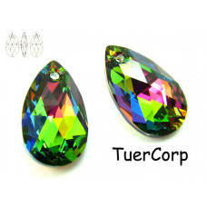 Swarovski pear-shaped 22mm vitrail medium