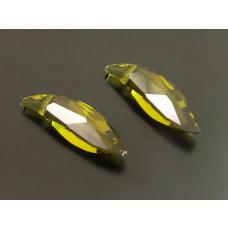 Swarovski lily 30mm olivine