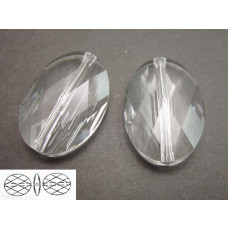 Swarovski oval bead 14mm crystal