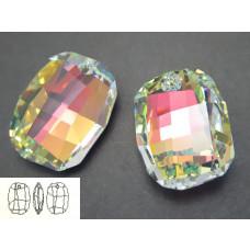 Swarovski graphic pendant 19mm crystal AB