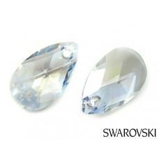 Swarovski pear-shaped 22mm blue shade