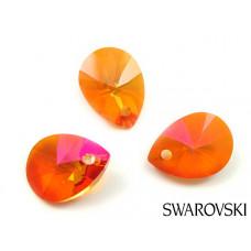 Swarovski mini pear 12mm astral pink