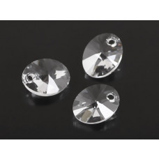 Swarovski oval pendant crystal 12mm
