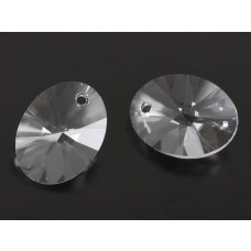 Swarovski oval pendant crystal 18mm