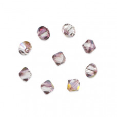 Swarovski bicone bead lilac shadow 6mm
