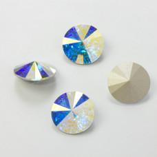 Swarovski rivoli stone crystal AB 18mm