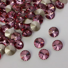 Swarovski rivoli stone antique pink 8mm