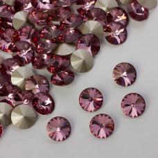 Swarovski rivoli stone antique pink 8mm