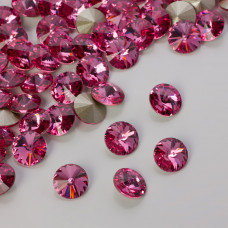 Swarovski rivoli stone rose 8mm